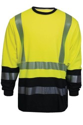 VIZABLE® FR Hybrid Hi-Viz Long Sleeve T-Shirt