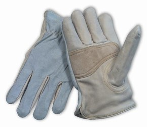 Maximum Safety® Leather Drivers Style Anti-Vibration Gloves